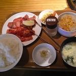 国産牛焼肉くいどん - 定食のセット