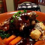 レストラン シェノワ gite - ビーフシチュー。口の中でトロけます。ランチで2000円 08/06