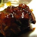 レストラン シェノワ gite - ビーフシチューのアップ。ソースの質感が伝わるでしょうか。 08/06