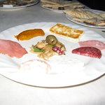 エーゲ海 - 前菜の盛り合わせ