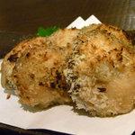 雄屋 - 椎茸のチーズ焼き