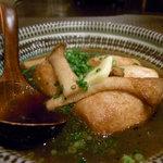 雄屋 - 里芋とエリンギの醤油バター