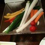 神保町ばる - 御通し(野菜)