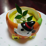菓子工房 pure - カボチャプリン¥420