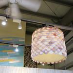アロハキッチン - 貝殻のランプ・シェイド