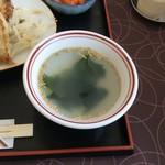 かさご浜松餃子 - スープ