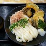 本格讃岐ぶっかけうどん 麺の里 - 野菜天ぶっかけ890円