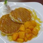 道の駅 なんごう - フレッシュマンゴーパンケーキ