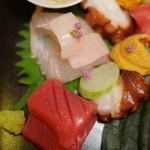 岩亀 - タコ、ヒラメ、赤身・・・