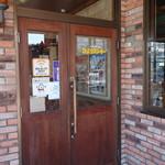 びっくりドンキー - 2016.08 おしゃれなレンガ張りの入り口