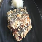 55709132 - 小鉢は、鯖の竜田揚げにしました。