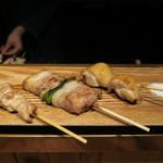 鶏とまつば - 料理写真: