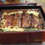 鰻料理 たけだ - 鰻のせいろ蒸しです、タレご飯と鰻を蒸しアツアツで寒い季節にはお薦め!美味しくて心も身体もポッカポカ