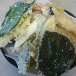 八甲田そば処きこり - 天ぷら盛り