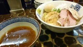 特級鶏蕎麦 龍介 - 淡麗醤油つけめん+極みトッピング