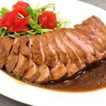 Mar Mare ANNEX - 【鴨肉のグリル 焦がしガーリックソース】今月のコース料理