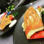 タストゥー - 長崎県産鮮魚のポアレ