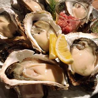牡蠣を食べ比べましょう!