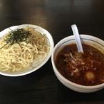 桃天花 - 担々つけ麺+チャーシュー切り落とし(740+50円)