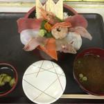 海鮮食堂ひっぱりだこ - 料理写真:海鮮丼定食