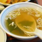 東龍門 - スープ