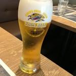 ラ フィーリア デル プレジデンテ - 生ビール600円(+tax)