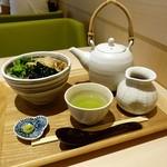 マッチャハウス マッチャカン MOP滋賀竜王 - 帆立と生海苔茶漬け 850円+税