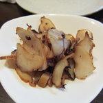 旬采焼五富 - 蛸の燻製