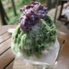 野外テラス 水の音 - 料理写真:かき氷900円也