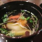 黒茶屋 - 椀物(すまし汁)