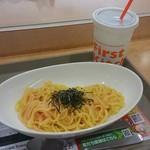ファーストキッチン - 北海道産たらこのパスタ