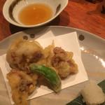 南や北や - 地タコの天ぷら