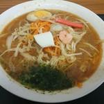遊離爺家 - 料理写真:海鮮辛味噌ラーメン