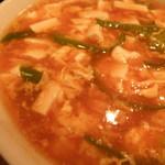食処酒処いいおか - 酸辣湯麺 (これを食べずして酸辣湯麺を語るべからず)