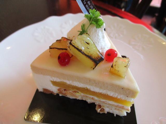 ナガハマコーヒー 外旭川店 - ホワイトチョコとパイナップル