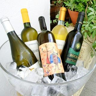 豊富な種類も魅力!南イタリアワインを中心に品揃え充実