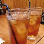 札幌銀鱗 - ウーロン茶