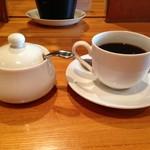 room's - 【2016.4】デザートセットのホットコーヒー