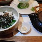 札幌銀鱗 - お茶漬け 梅