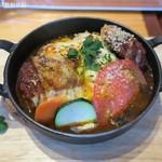 ケロッグ アンド カリー - トマト煮込みハンバーグのオーブン焼きカレー1,150円