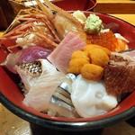 刺身BAR 河岸頭 - 海鮮丼