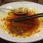 55732202 - 麻婆婆豆腐の食べたあと