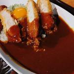カラスマオイケ・カレー カリカリ - ゴク厚豚カツカレー