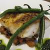 Le Carre - 料理写真:明石産真鯛のポワレ ソースピストゥー