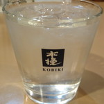 串焼はるちゃん - 木挽(こびき)ロック(宮崎焼酎)