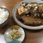 魚魚 - 煮魚定食=780円