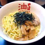 東京麺珍亭本舗 - 油そば(大盛)¥600 2016.9.1