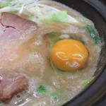 せんじゅ 麺処 猪太 - 豚骨醤油ラーメン