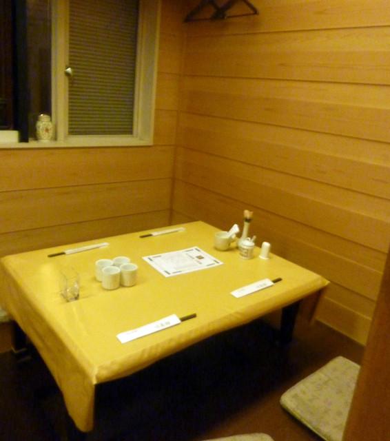 川菜館 - 座敷席
