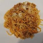 55742267 - エビ合え麺エビ風味のミートソース